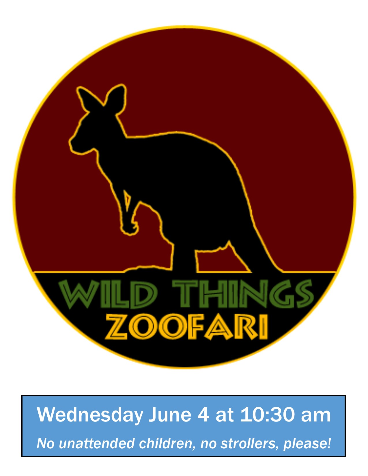 Wild Things Zoofari poster
