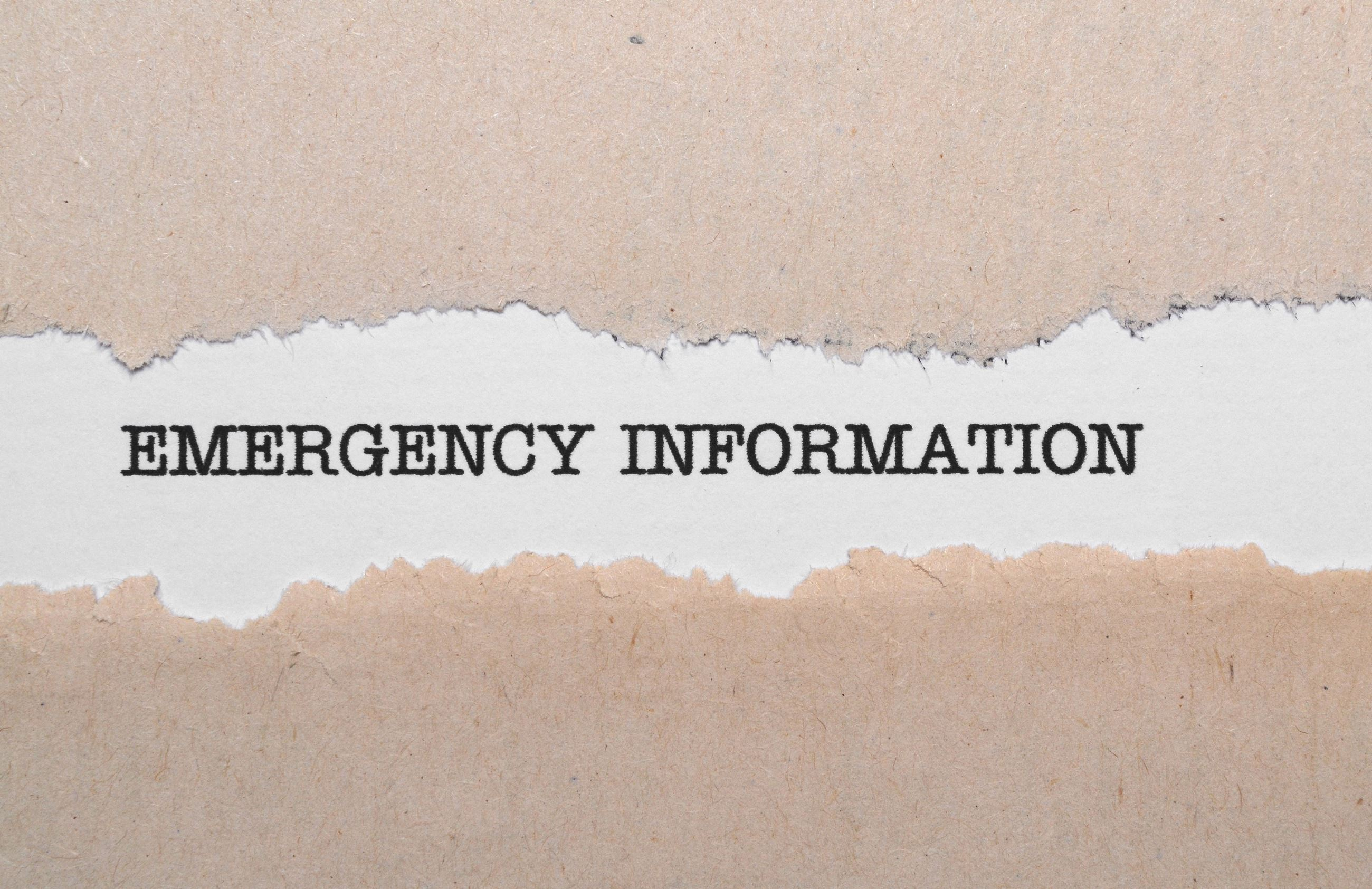 emergency-information