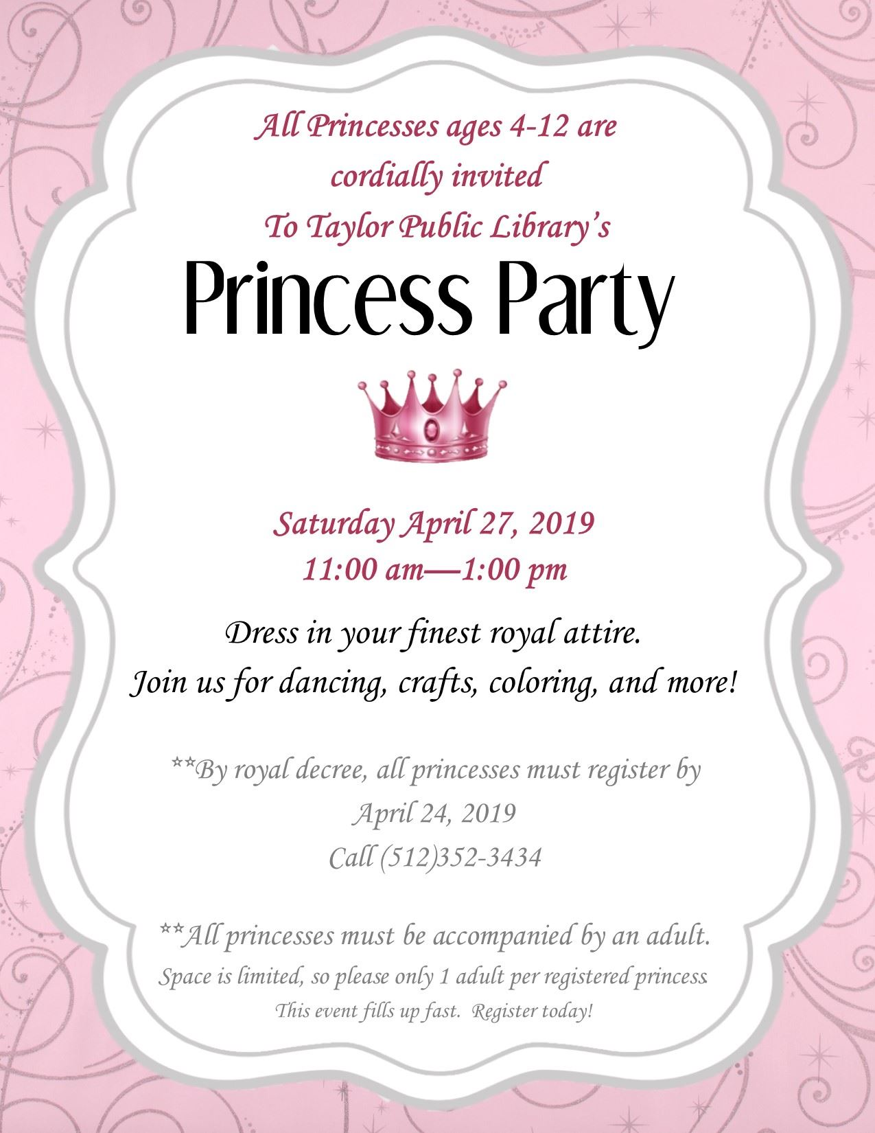 Princess Apr 27 2019