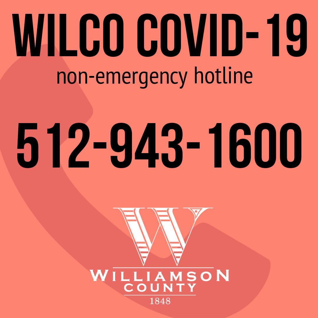 WilCo NonEmergency Hotline