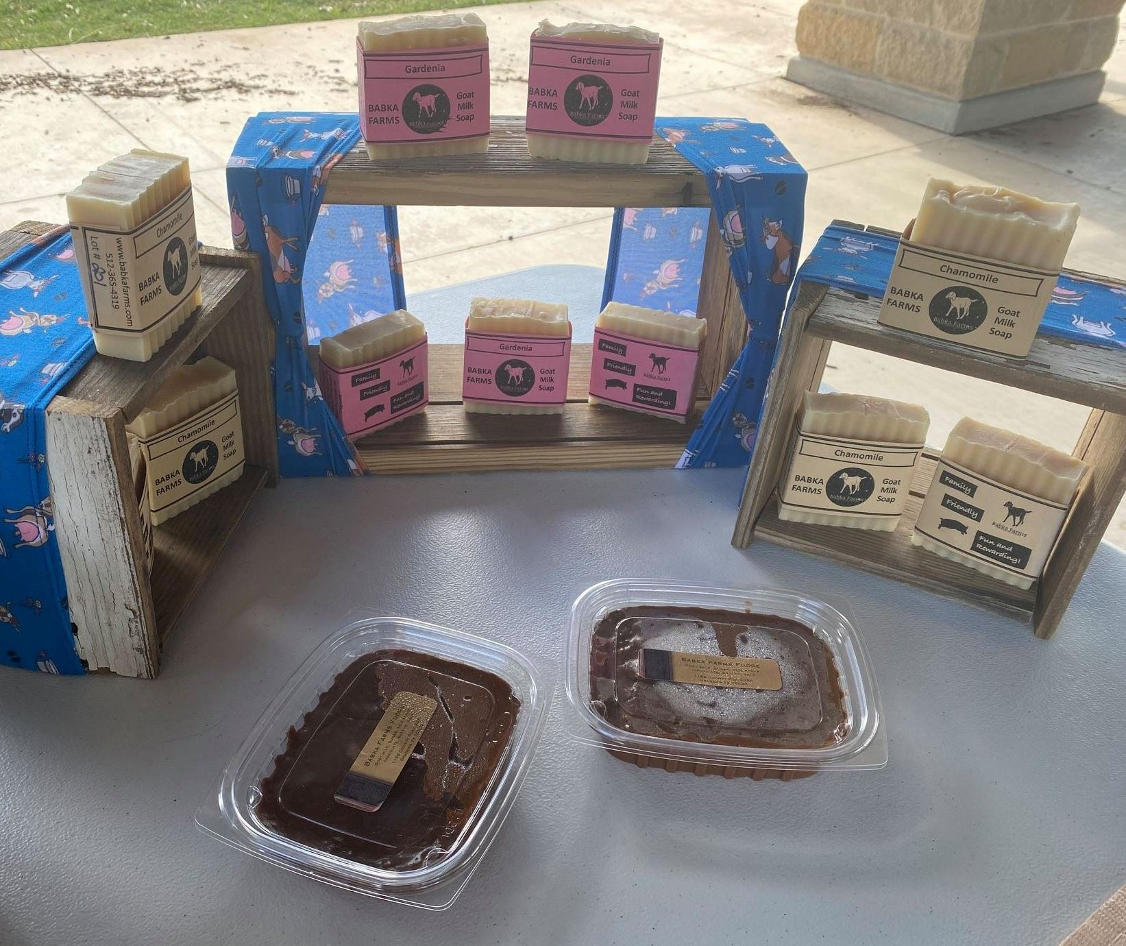 Babka Farms soaps Opens in new window