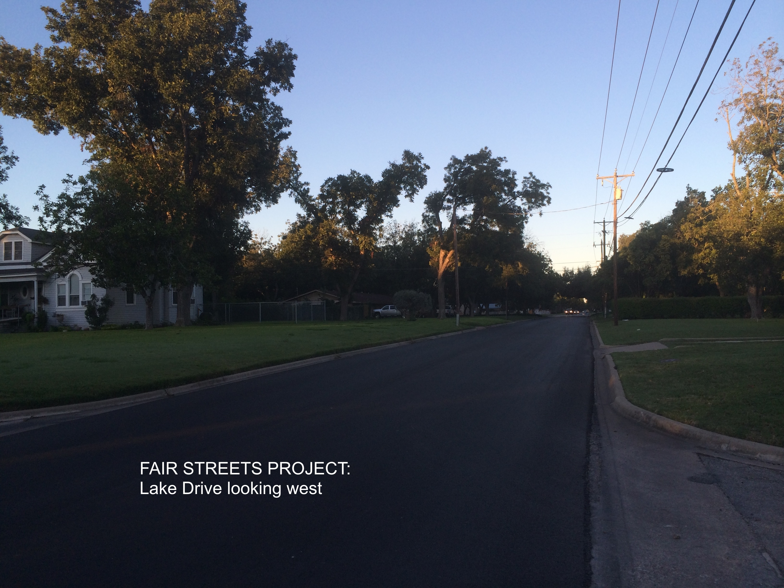 Fair to Good Streets