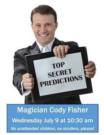 Magician Cody Fisher poster