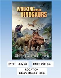 Walking with the dinosaurs poster