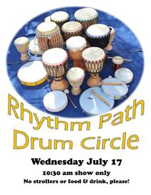 Rhythm Path drum circle