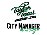 City Manager Message logo